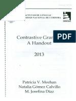 Contrastive Grammar a Handout 2013.pdf