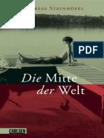 Steinhöfel, Andreas - Die Mitte Der Welt (2016, CARLSEN Verlag GmbH, Hamburg)