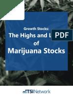 Marijuana stock investing Report