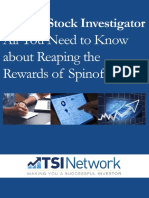 Spinoff investing