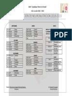 Calendarizacion de Neuronutricion 2018