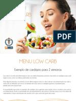Cardapio Low Carb