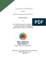 BDA Report Smart Home Prediction
