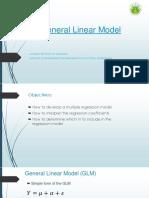 General Linear Model