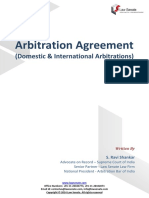 Arbitration Agreement Domestic International