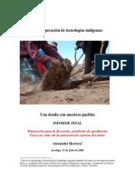 Herrera - La recuperación de tecnologías indígenas