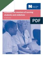 Guide mentor of nursing