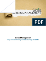 STRESS MANAGEMENT - Different Perspective