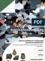 PPT -Classificação Das Rochas Magmáticas