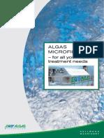 Algas Microfilter Brochure