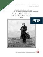 Lenine-Imperialisme, stade suprême du capitalisme
