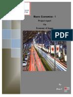 Group 5_Macro-1_Report on Japan Economy