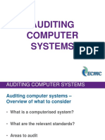 Audit Computer Systems