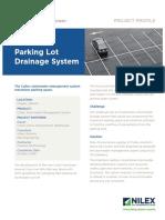 Nilex Lowes Parking Lot Drainage Project Profile