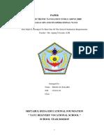Makalah Electronik Navigasi dalam bahasa inggris by