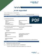 Ficha de Seguridad de La Pvpk30