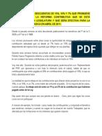 Descuentos 15-10-7 Reforma