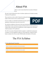 About FIA