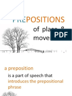 78 Prepositions of Place and Movement