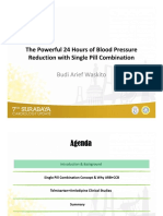 02.1 the Powerful 24 Hours of Blood Pressure Reduction With Single Pill Combination - Budi Arief Wasktito, MD, FIHA