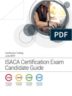 Exam Candidate Guide Continuous Testing