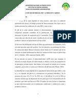 Practica N1- Determinacion de Ph y Acidez en Carnes