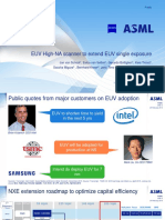 ASML 1.5nm EUV High-NA Technolgy