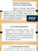 Derechos y Beneficios Del Trabajador