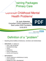 Common Child Psychiatric Disorders (2)