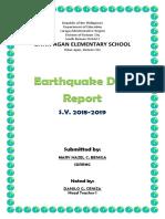 NOVEMBER Earthquake Drill 2018