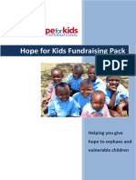 Hope for Kids Fundraising