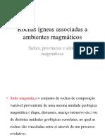 Rochas iÃÅgneas associadas a ambientes magmaÃÅticos.ppt