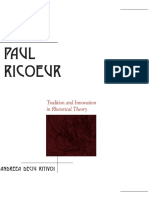 (Rhetoric in the Modern Era) Andreea Deciu Ritivoi - Paul Ricoeur_ Tradition and Innovation in Rhetorical Theory-State University of New York Press (2006).pdf