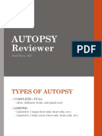 Autopsy Reviewer