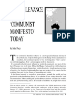 The Relevance of The 'Communist Manifesto' Today.pdf