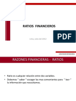 10.- Ratios Financieros