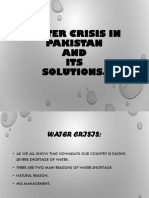 Water crisis in pakistan.pptx