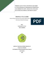 Kajian Teknis Peremuk Batuan Pada Unit Pengolahan Bijih Emas Dan Tembaga Untuk Peningkatan Produksi Dan Pemenuhan Target Pengolahan Berikutnya Di Pt