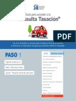 Guia Tasacion Vehicular SII