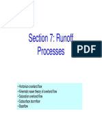 Hydrology Runoff