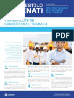 Boletín AES 46 Abril- Beneficios de Sonreír en El Trabajo