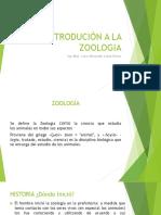 Introducción a La Zoologia Acuatica