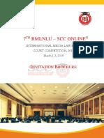 Invitation Brochure 7th RMLSCC