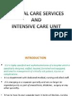 Critical Care and Icu
