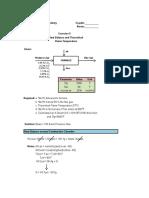 Heat Balance Computation and TFT Determination