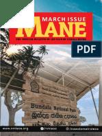 MANE-March Edition