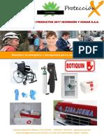 Catalogo Botiquines 2017