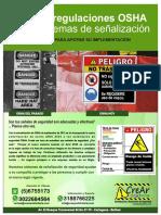 Norma ANSI Z535 Señalizacion