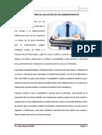 REVISION DE ACTOS ADMINISTRATIVOS