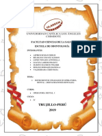 Instrumentaly Material Para Restauraciones Dental